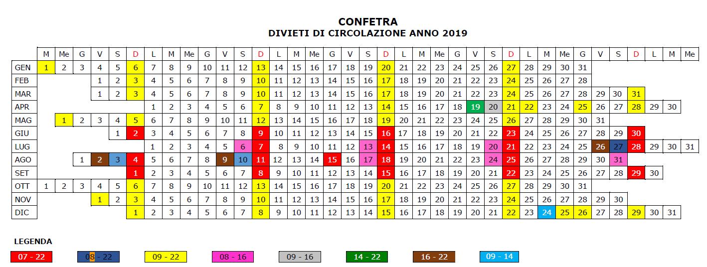 Divieti di circolazione in Italia 2019 blocchi2019_152_1.PNG (Art. corrente, Pag. 1, Foto centrale)